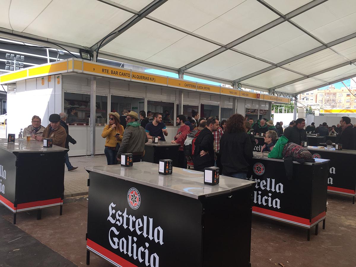 Casetas para la Fiesta de la Magdalena 2018