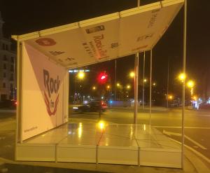IBERSTAND realiza el montaje de los escenarios del Maratón & ½ Maratón de Madrid