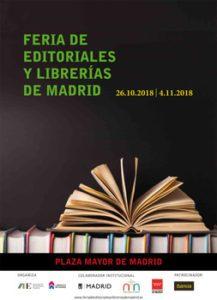 Iberstand presente otro año más en la II Feria de editoriales y librerías de Madrid en Plaza Mayor.