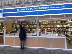 Otro año más, Iberstand realiza el montaje de la Feria del Libro antiguo de Salamanca 2018