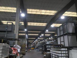 IberStand, empresa comprometida con el medio ambiente aplicando medidas de eficiencia energética.