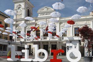 IBERSTAND realiza el montaje de las casetas para las Ferias del Libro de Badajoz, Tres Cantos y Guadalajara de 2018.