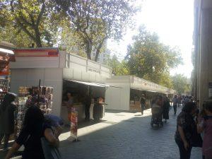 IBERSTAND realiza el montaje de la Feria del Libro Antiguo de Barcelona 2018