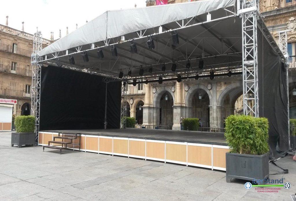 Montaje modular festival