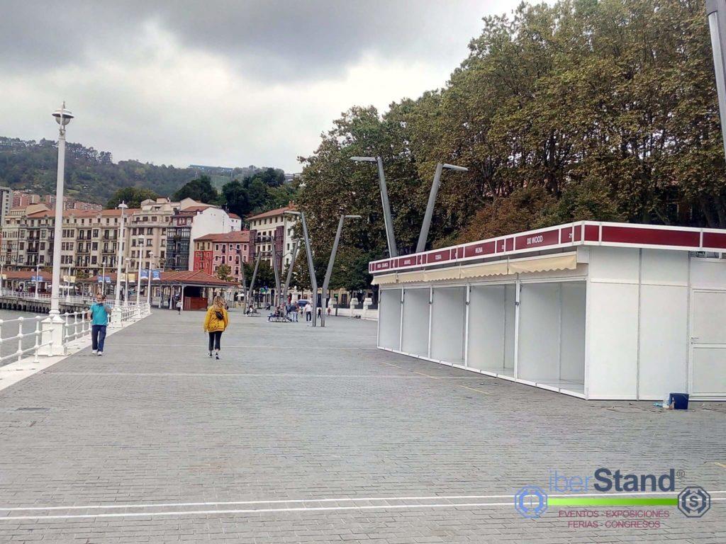 Casetas Modulares Feria artesanía Bilbao