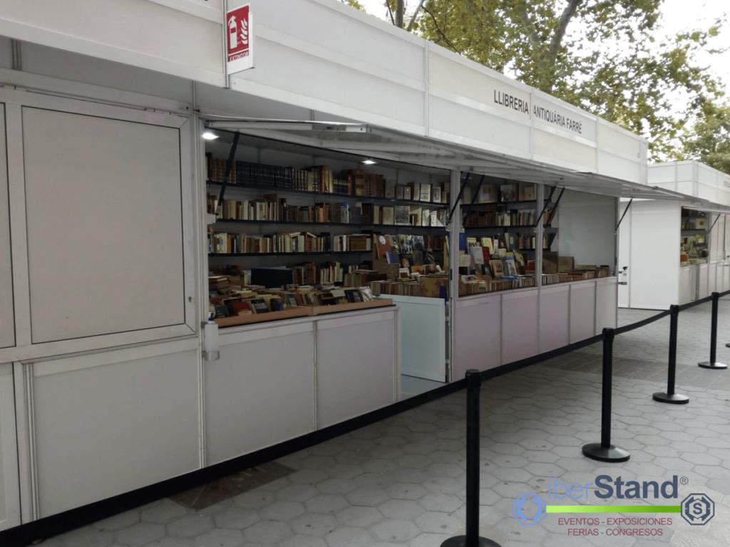 Panorámica montaje Libro Madrid 2018