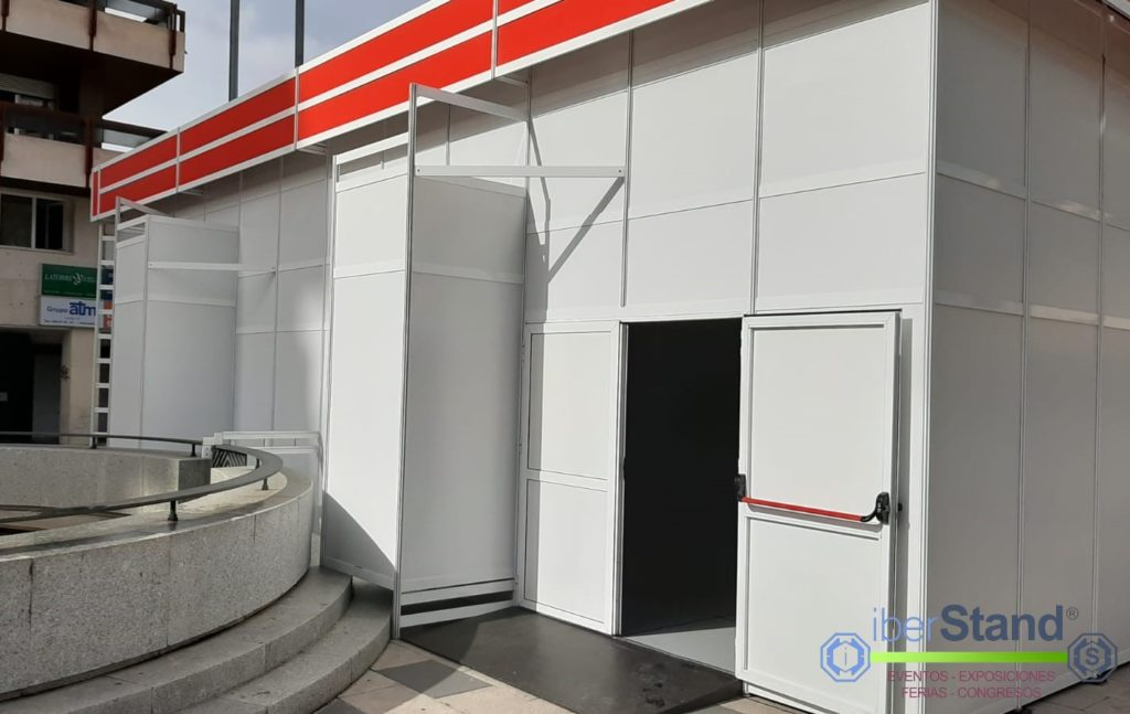 Pabellón modular belén de Guadalajara