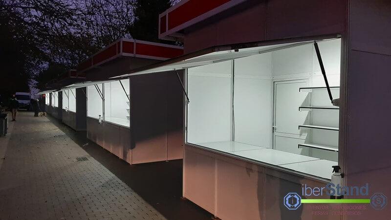 Casetas de exterior Coslada