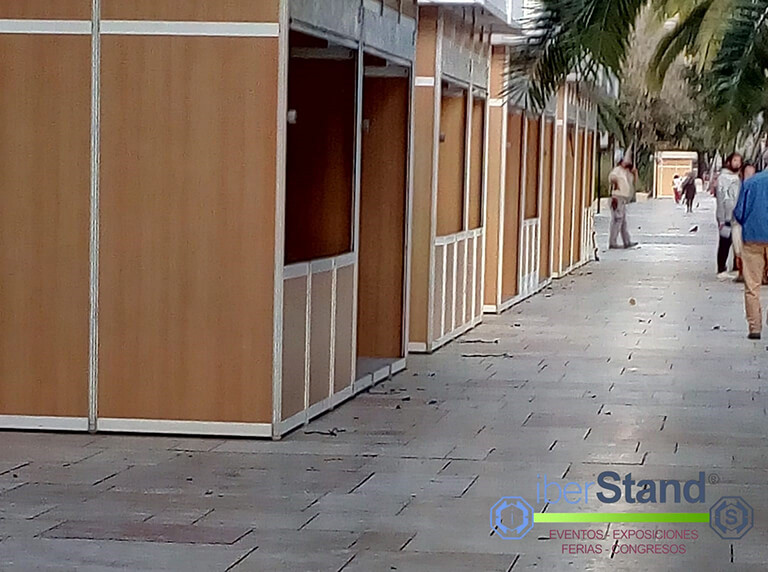 caseta modular feria malaga
