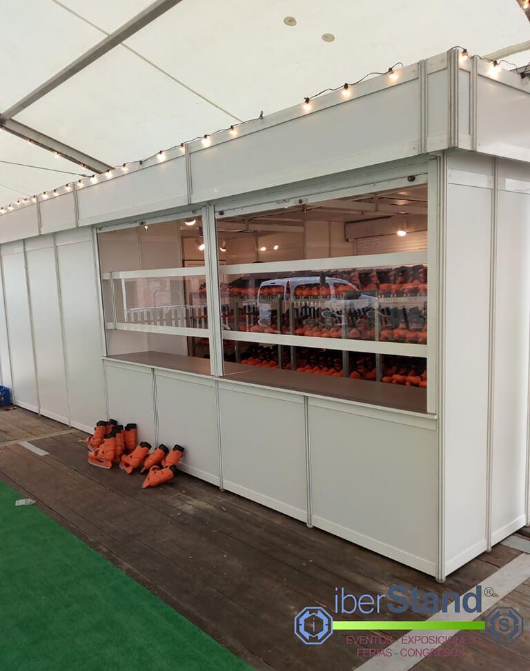 Caseta modular pista de hielo