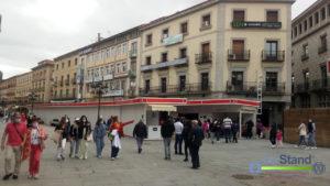 casetas feria artesanía Segovia